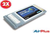 D-LINK 22MBit Wireless PCMCIA Adapter Airplus DWL-650+ Wireless WLAN 11 und 22 MBit